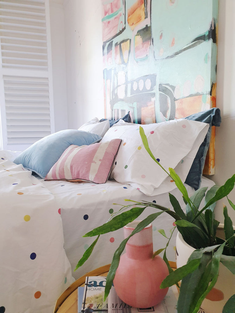 Adding colour to your bedroom!