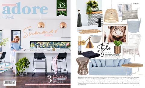 adore home magazine summer issue