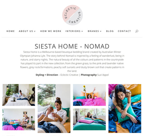 eclectic creative jess viscard siesta home nomad collection stylist