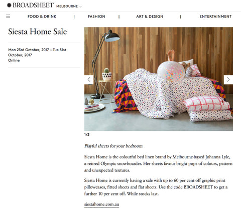 broadsheet melbourne facebook siesta home sale