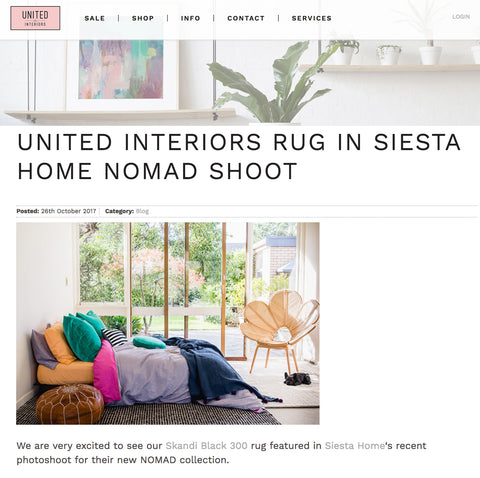 united interiors siesta home nomad