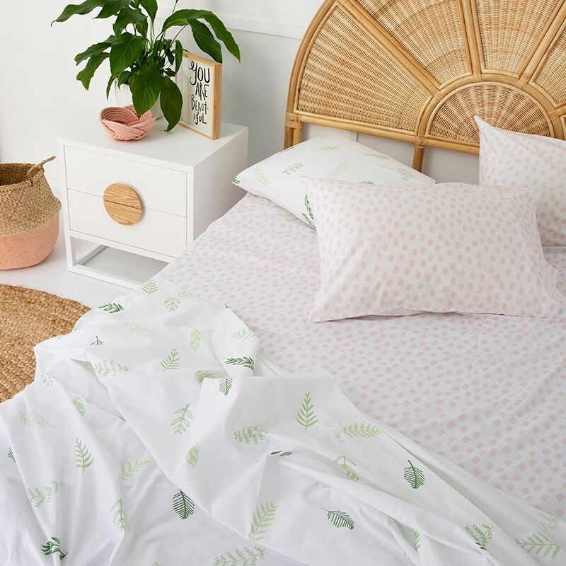LEAF ME BREATHLESS FLAT SHEET