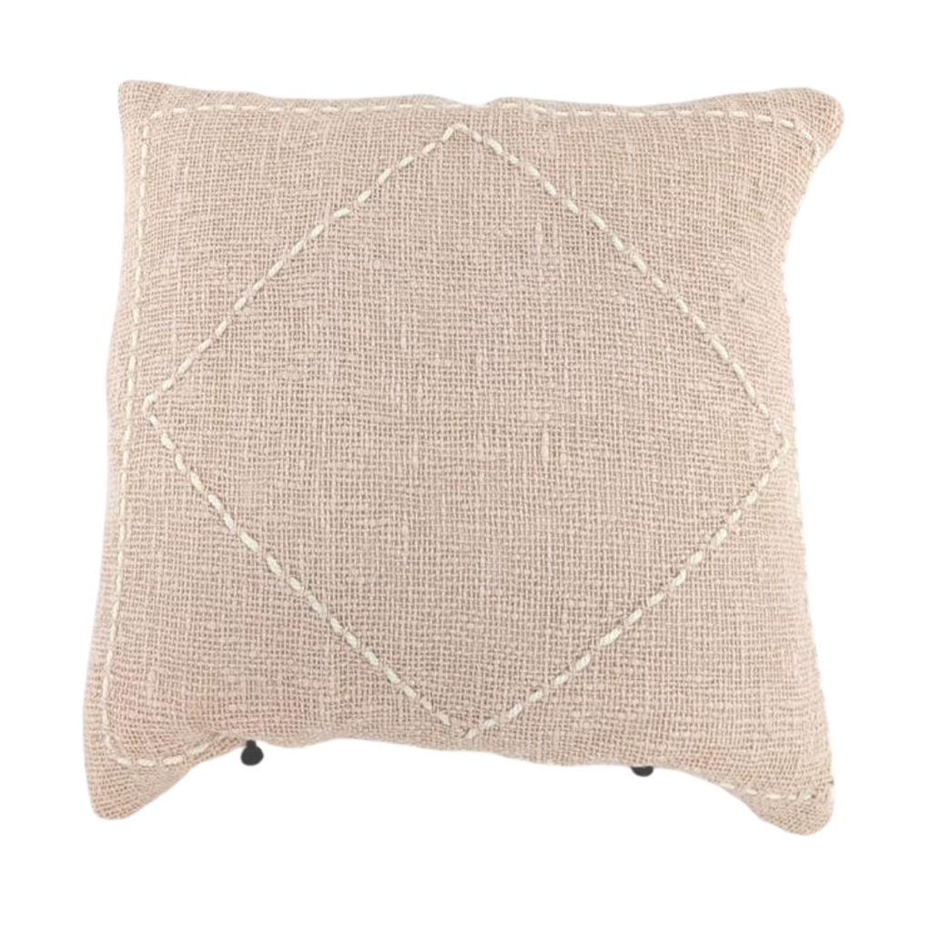 Sienna Cushion - Blush
