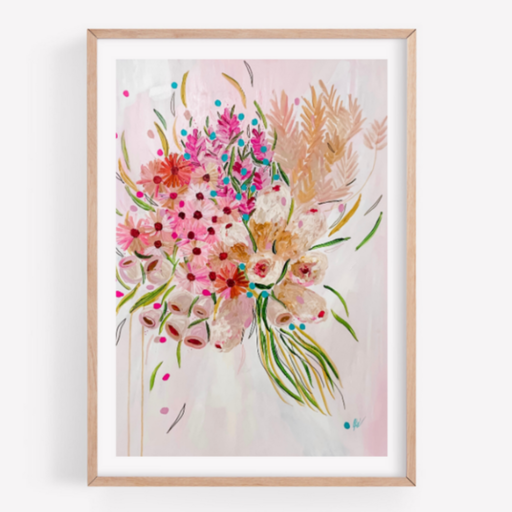 Joy Unframed Print - Out of the Wilderness Collection