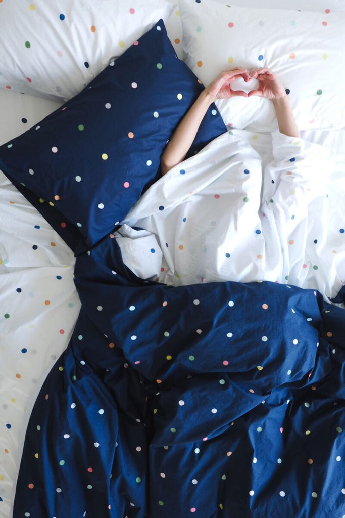 SPOT & DOT NIGHT SKY PILLOWCASE - SET OF 2