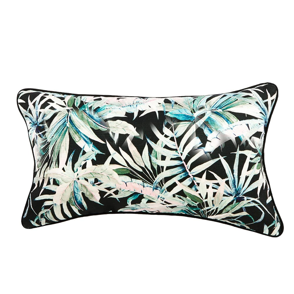 Indoor/Outdoor Cushion – Byron Dark