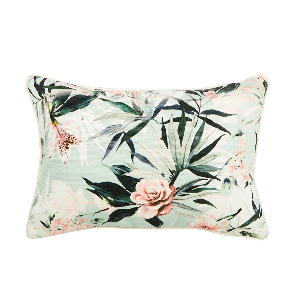 Indoor/Outdoor Cushion –Soft Rose