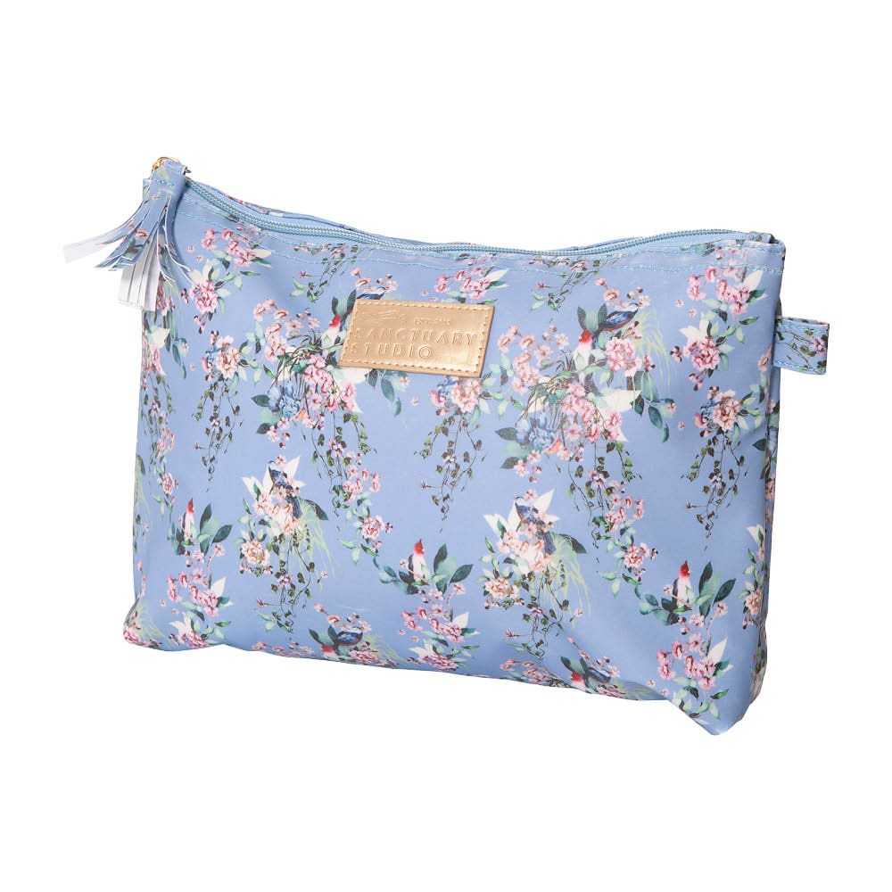Cosmetic Bag – Chinoiserie Blue