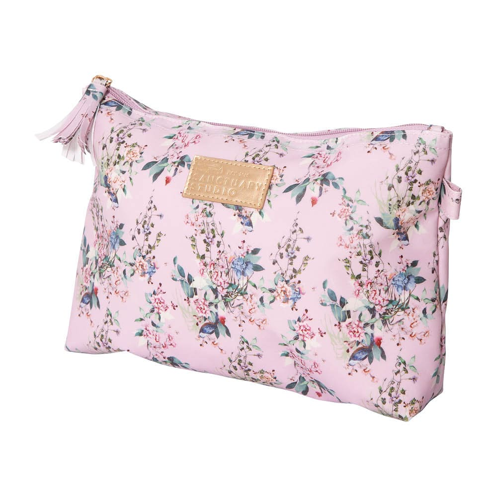 Cosmetic Bag – Chinoiserie Pink