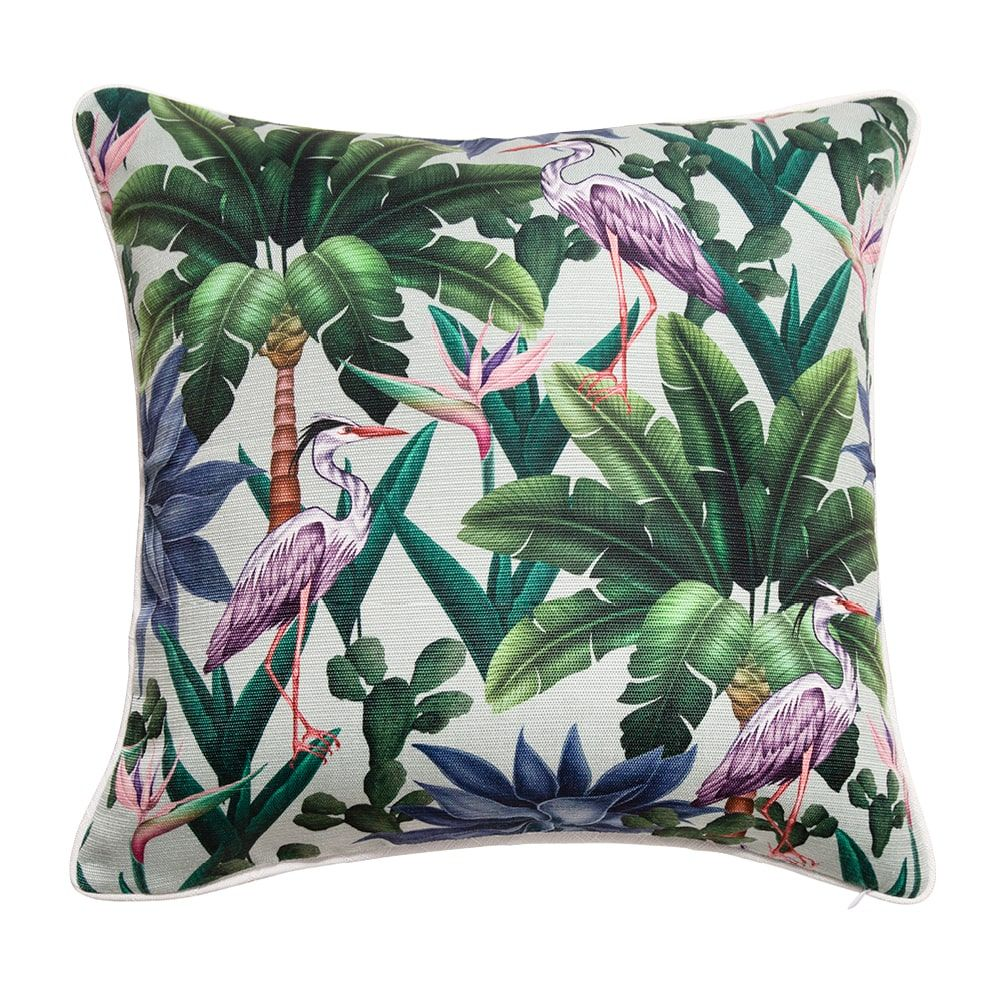 Indoor/Outdoor Cushion – Herons In The Garden