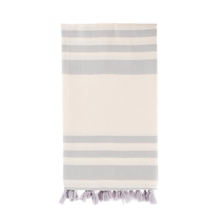 Malta Turkish Towel - Pale Grey