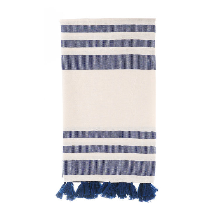 Malta Turkish Towel - Navy