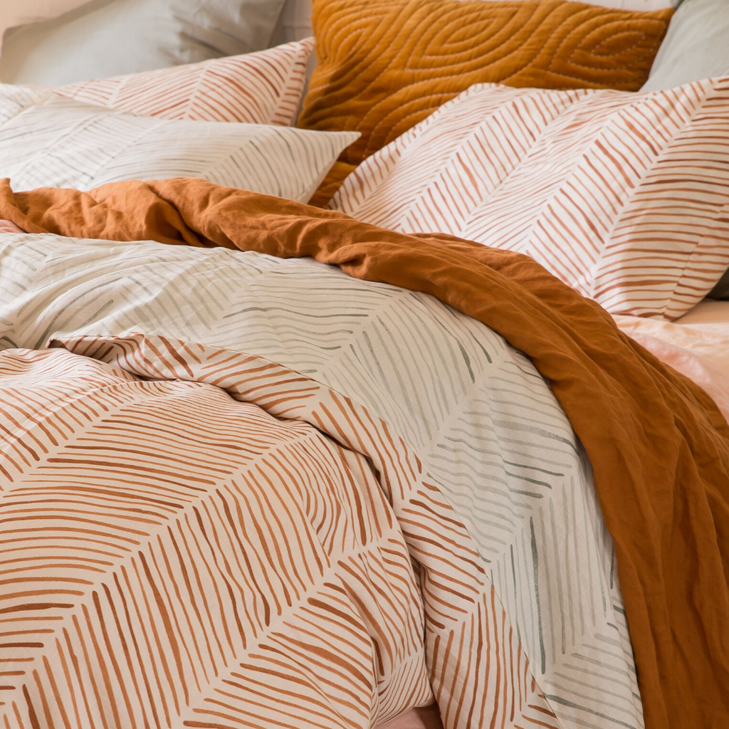 SUNRISE DUVET COVER - REVERSIBLE