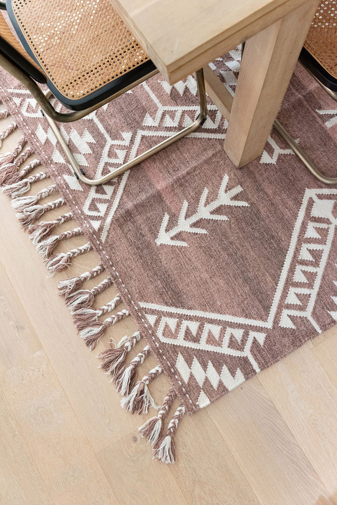Adilah - Cherry Rust Wool Rug