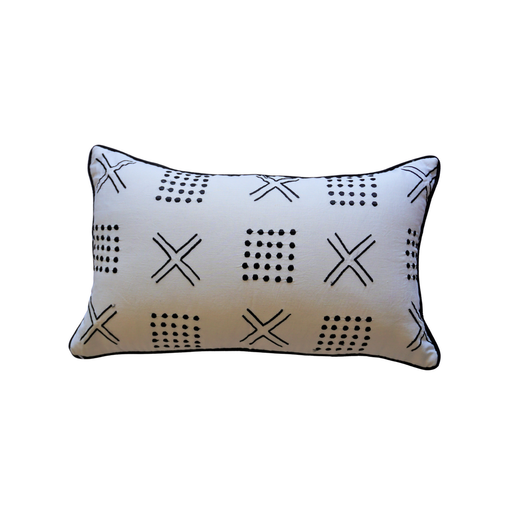 Raven Cushion - white