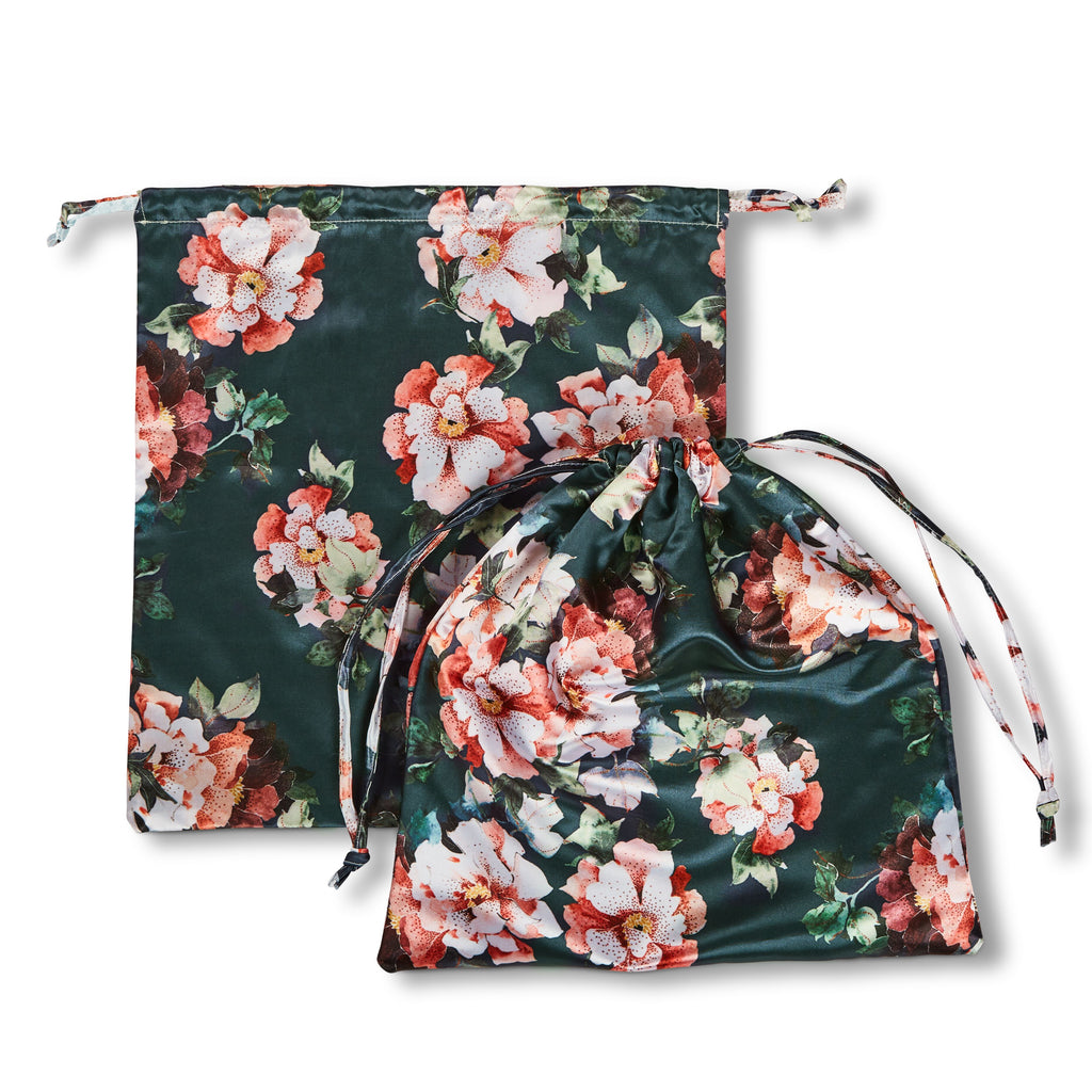 Lingerie Bag – Pond Blue Flora