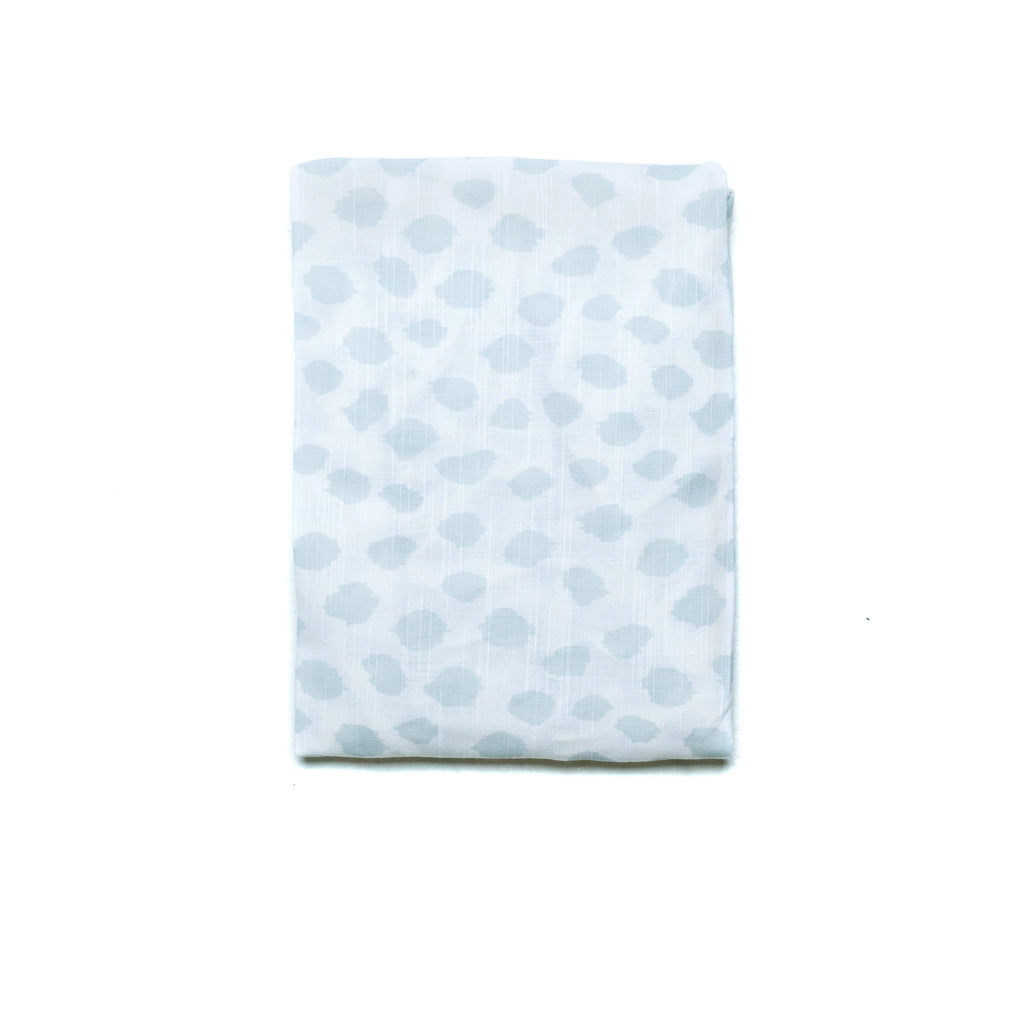 SAFARI FITTED BASSINET SHEET - SKY BLUE