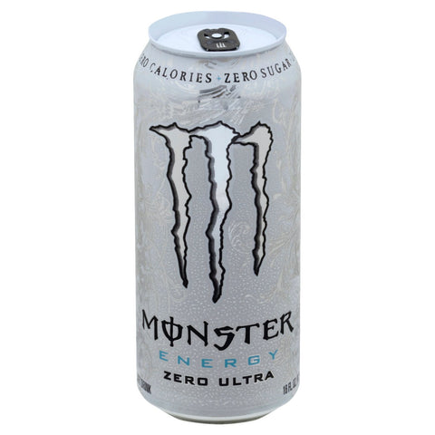Monster Energy Zero Ultra, Sugar Free Energy Drink - Big Time's Vapor