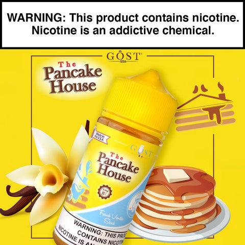 The Pancake House French Vanilla Stack 100ml - Big Time's Vapor