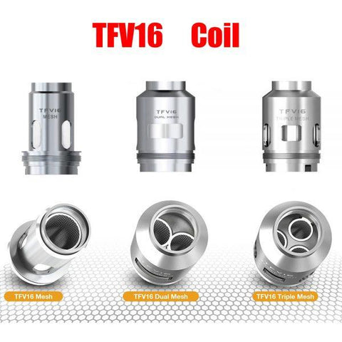 SMOK TFV16 Tank Replacement Coils (Pack of 3) - Big Time's Vapor