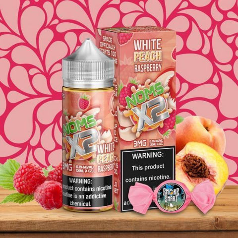 White Peach Raspberry 120ml