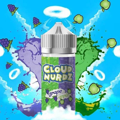 Cloud Nurdz Grape Apple 100ml - Big Time's Vapor