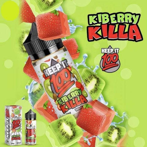 Keep It 100 Kiberry Killa / OG Island Fusion 100ml - Big Time's Vapor