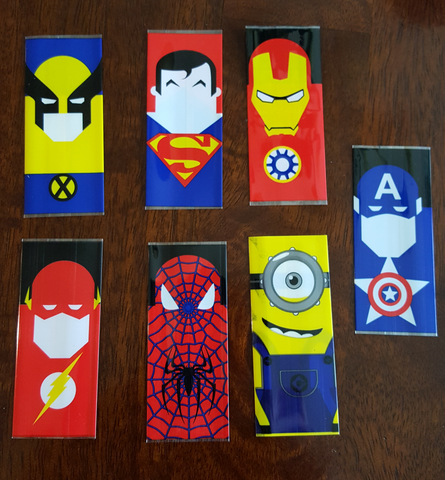 Superhero 18650 Battery Wrap