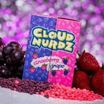 Cloud Nurdz Grape Strawberry 100ml - Big Time's Vapor