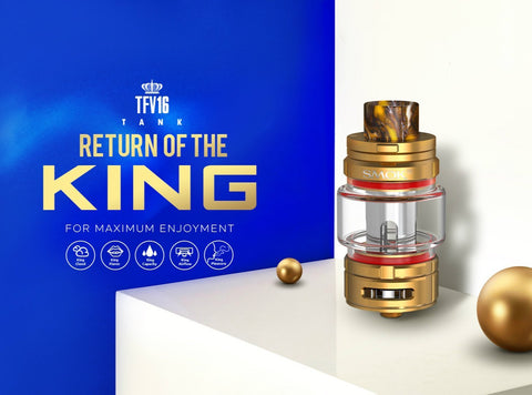 SMOK TFV16 Sub Ohm The King Tank - Big Time's Vapor