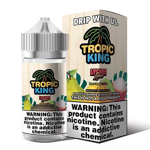 Tropic King Salt  Lychee Lava - Big Time's Vapor