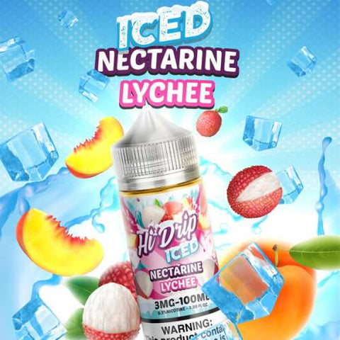 Nectarine Lychee Ice 100ML - Big Time's Vapor