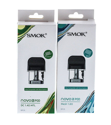 SMOK NOVO 2 Refillable Pod Cartridges (3-Pack) - Big Time's Vapor