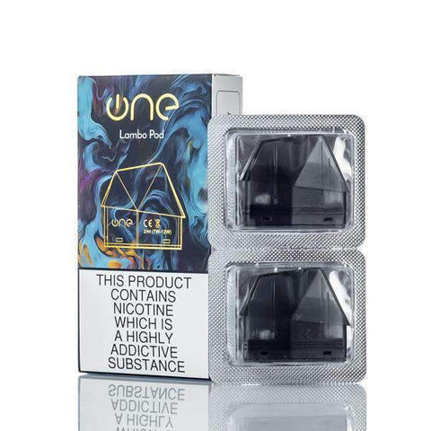 ONE Vape Lambo Replacement Pods Cartridges (2 pack) - Big Time's Vapor