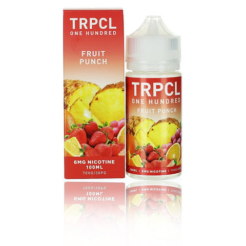 TRPCL ONE HUNDRED Fruit Punch 100ml - Big Time's Vapor