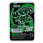 Wotofo X Fiber 3mm Cotton 30CT Package - Big Time's Vapor