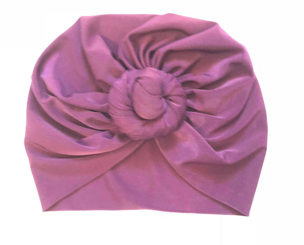 Top Knot Head Wraps - Purple