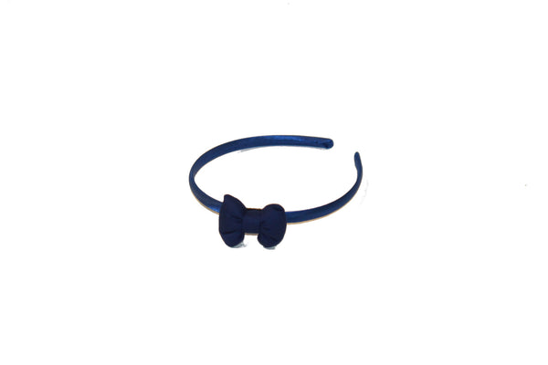 Royal Blue - Small Bow