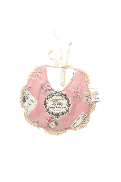 Ruby Couture Bib - Vintage Old Rose