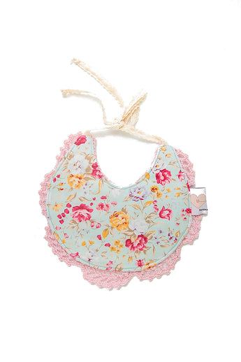 Ruby Couture Bib -  Dainty Floral