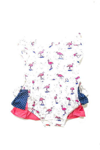 Cailah Romper - Flamingo Love