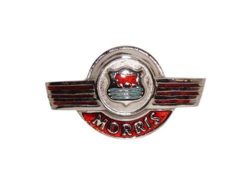 VINTAGE MORRIS MINOR FRONT EARLY TYPE BONNET BADGE BRAND NEW AVAILABLE AT CLASSIC SPARE PARTS