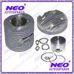 HIGH QUALITY LAMBRETTA 200CC  ALUMINIUM PISTON KIT – 66MM  AVAILABLE  ONLINE AT CLASSICSPAREPARTS