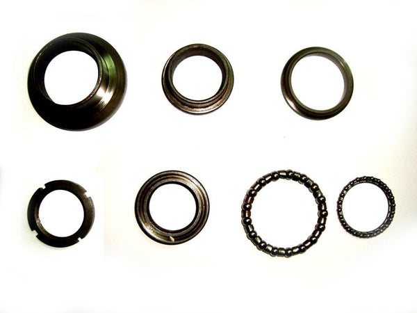 BRAND NEW LAMBRETTA STEERING BEARING COMPLETE KIT (TOP & BOTTOM) @ ROYAL SPARES AVAILABLE  ONLINE AT CLASSICSPAREPARTS