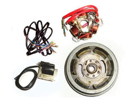 COMPLETE LAMBRETTA GP IGNITION KIT-POINT TYPE SUPPLY-HI QUALITY ELECTRICAL PARTS AVAILABLE  ONLINE AT CLASSICSPAREPARTS
