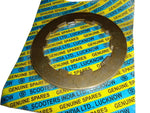 HIGH QUALITY SPARES - LAMBRETTA SET OF 3 CLUTCH STEEL PLATE SIL @ ROYAL SPARES AVAILABLE  ONLINE AT CLASSICSPAREPARTS