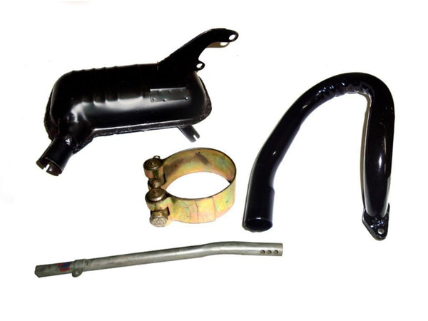 BRAND NEW LAMBRETTA SERIES 3 EXHAUST ASSEMBLY - HIGH QUALITY SPARES @ROYALSPARES AVAILABLE  ONLINE AT CLASSICSPAREPARTS