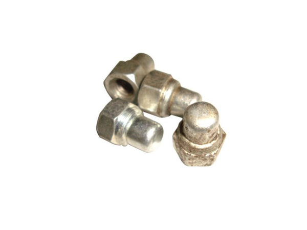 VINTAGE LAMBRETTA REAR HUB NUT SET OF 4 – BRAND NEW @ ROYALSPARES AVAILABLE  ONLINE AT CLASSICSPAREPARTS