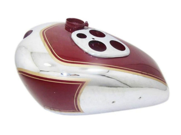 Quality Petrol Tank Cherry Color Painted Fits Triumph Tiger 90 Models available at Online at ClassicSpareParts