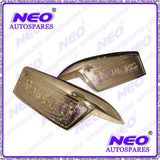 TRIUMPH T120 T140 TR6 TR7 PETROL TANK BRASS BADGES LEFT & RIGHT  AVAILABLE AT CLASSIC SPARE PARTS